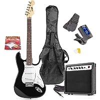 MAX GigKit Black Electric Guitar Pack
