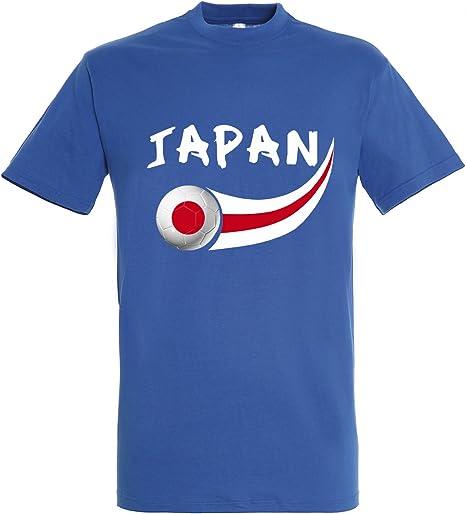 Supportershop – Camiseta Japón Hombre, Azul Royal, FR: L (Talla Fabricante: L): Amazon.es: Deportes y aire libre