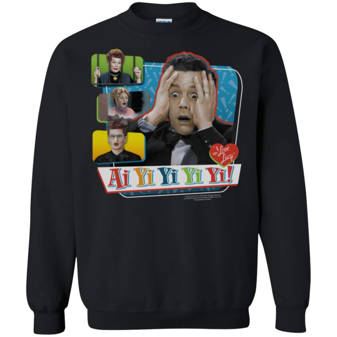 I Love Lucy Ai Yi Yi Yi Yi Crewneck Pullover Sweatshirt 8 oz.