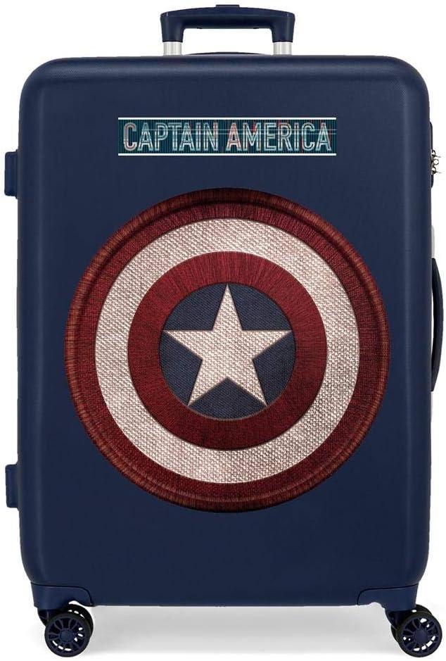 Maleta Mediana Captain America rígida 68cm