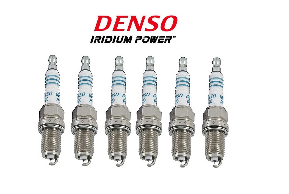 6 New DENSO Iridium Spark Plugs IK20 # 5304