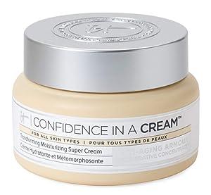 it-Cosmetics Confidence in a Cream Moisturizing Super Cream Moisturizer 2 oz 60ml 1 Pack