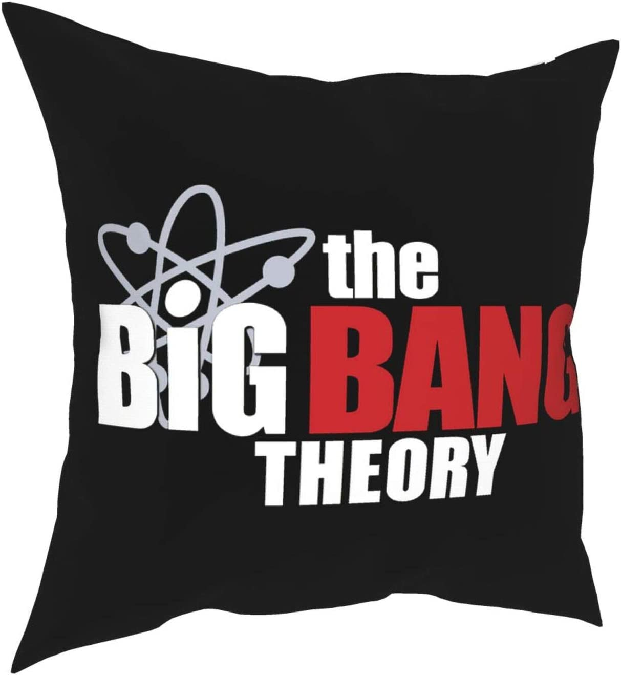 JHJHJ The Big Bang Theory Throw Pillow Home Decor Throw Pillow Covers for Bedroom Sofa Living Room All Seasons Pillow Covers