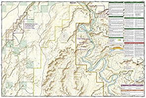 the maze utah map Maze District Canyonlands National Park National Geographic