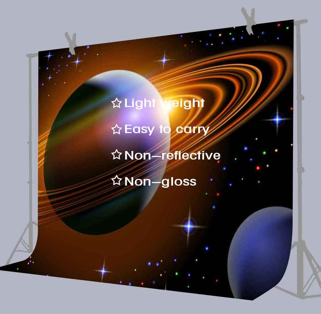 FUERMOR 7x5ft Cosmic Planet Photography Background Game Video Studio Photo Backdrop Wall NANFU363