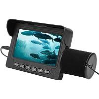 FastUU Cámara de Pesca submarina, cámara portátil con buscador de Peces, cámara infrarroja LED Impermeable, buscador de…