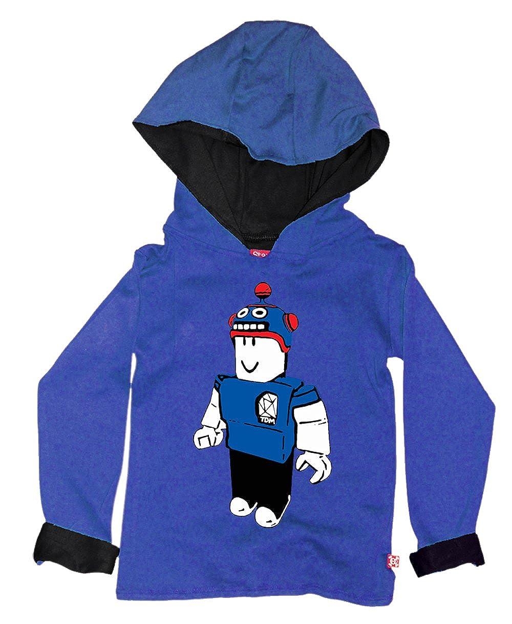 Black Stardust Ethical Kids Childrens Dan TDM Diamond Minecart Roblox Hoody Hoodies & Sweatshirts Boys' Clothing