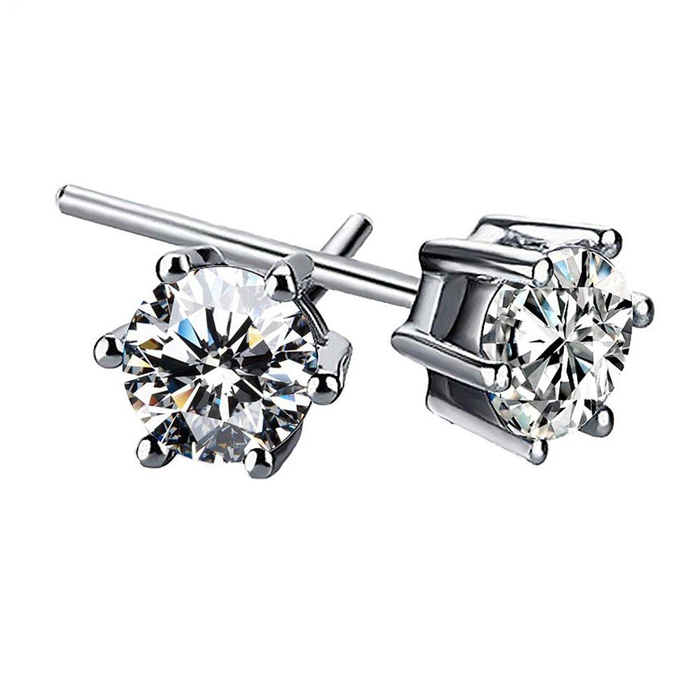 Freedi Crystal Diamonds Stud Earrings Rhinestone Hypoallergenic Fashion Women Jewelry