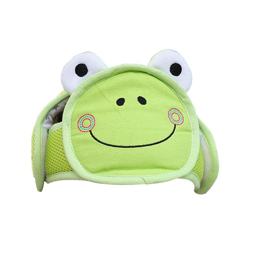 Protector de cabeza de beb/é gorra de protecci/ón para ni/ños amarillo amarillo casco de seguridad ajustable resistente a los golpes