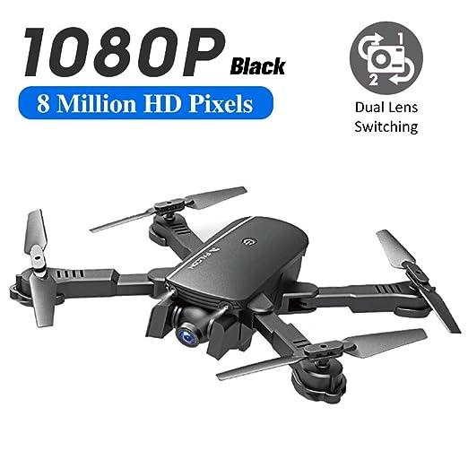 succeedw Dron cámara 1080P para niños y Adultos, 2,4 GHz WiFi FPV ...