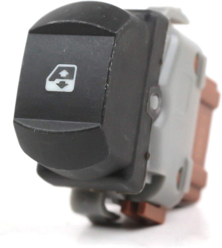 FFTH 6-Pin Schalter f/ür Fensterheber 8200315013 f/ür Renault Megane 2 Laguna 2 Espace 4