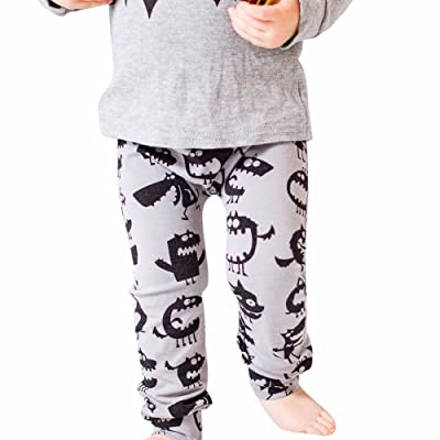 Handyulong Newborn Children Trousers Baby Girls Boys Cartoon Warm Print Leggings Pants Baby Sweatpants