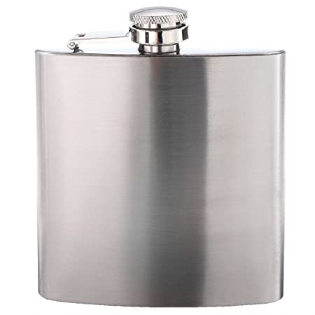 Sonline 8 Oz Stainless Steel Hip Flask