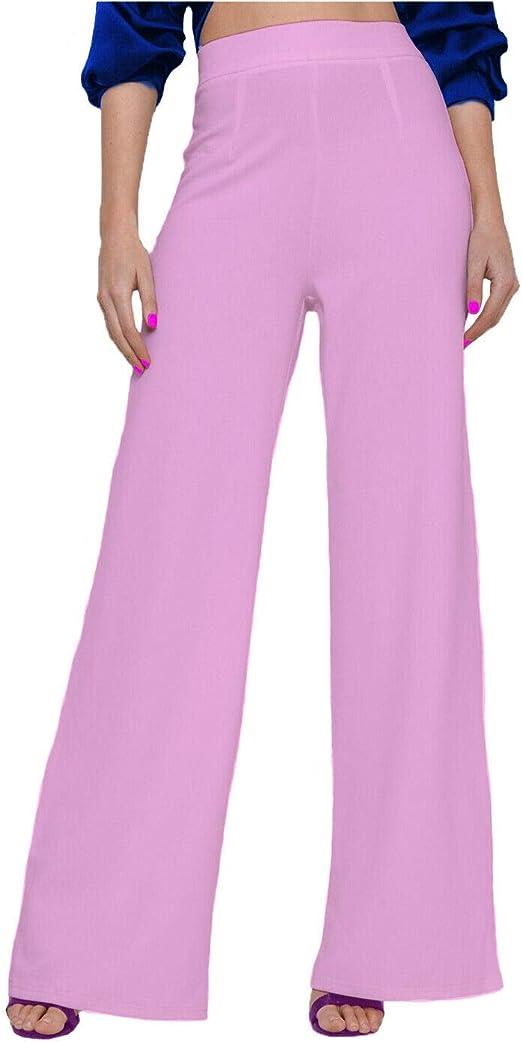 Women Ladies Plain Hareem Plazo Pants Wide leg Plazzo Trousers Loose Pants