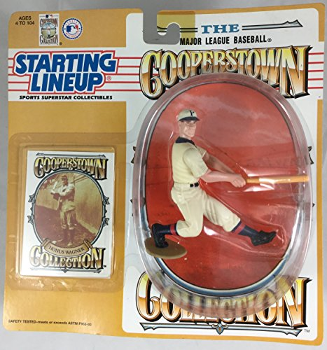 1994 KENNER STARTING LINEUP COOPERSTOWN COLLECTION HONUS WAGNER PITTSBURGH PIRATES SEALED IN PACKAGE (Cooperstown Memorabilia)