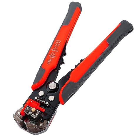 Crimpadora Automatica Pela Cables RJ45 Tenaza Pelacables Alicates: Amazon.es: Bricolaje y herramientas