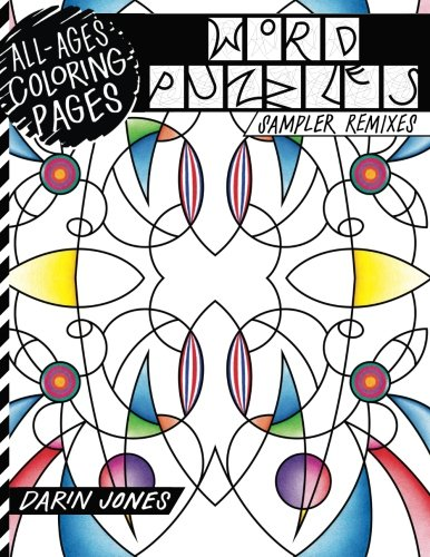 All-Ages Coloring Pages, Word Puzzles: Sampler Remixes