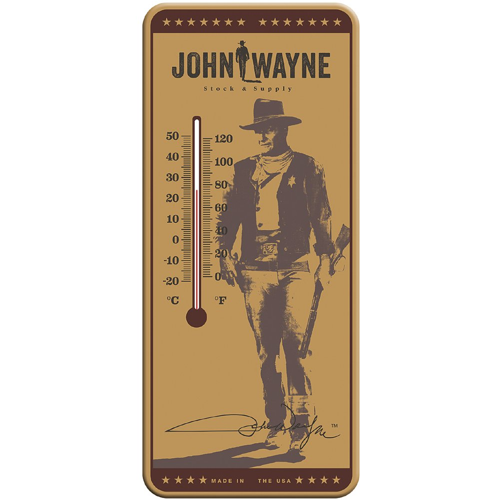 Amazon.com : Key Enterprises, Inc. John Wayne Thermometer - The Duke ...