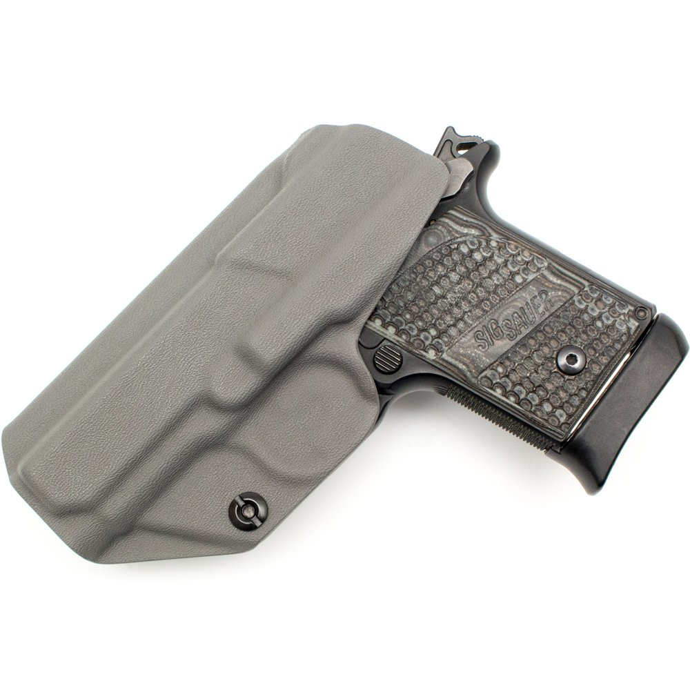 Tulster Sig P938 Holster IWB Profile Holster (Dark Grey - Right Hand) by Tulster (Image #2)