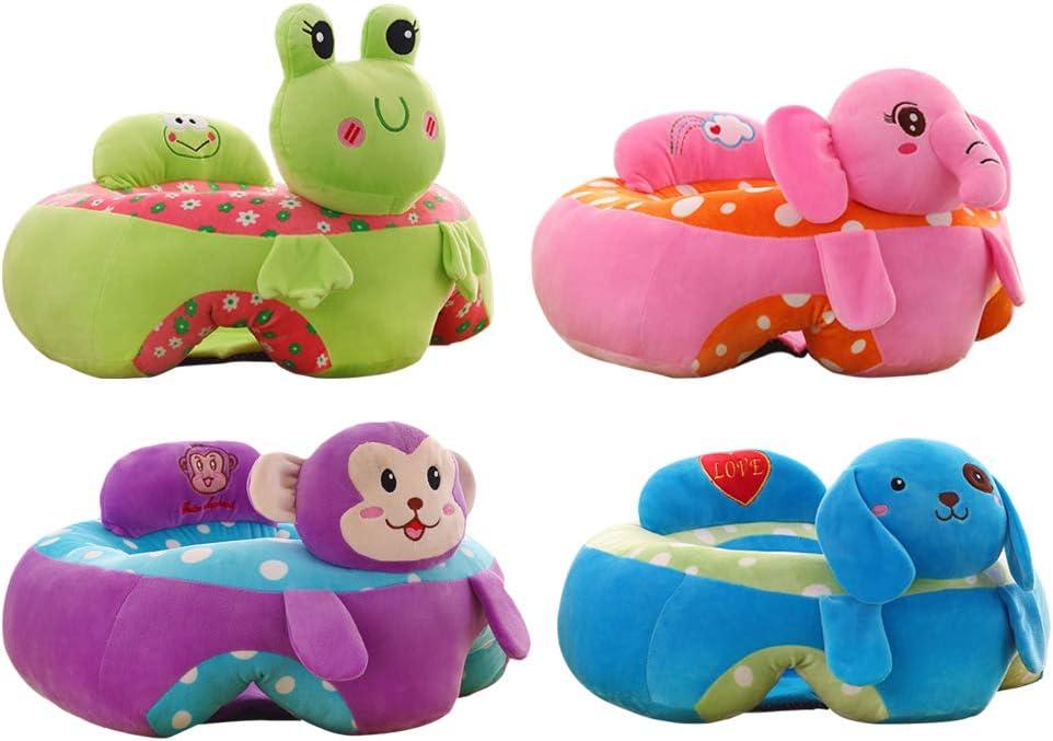 dise/ño animal peluches peluche Silla segura para sentarse para el Asiento de Aprendizaje de Apoyo para Beb/és Suave Sof/á de asiento de aprendizaje para beb/és Elefante Rosa Bumbo Asiento Bebe