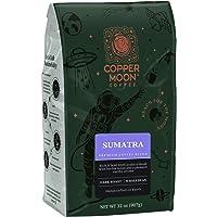 Copper Moon Whole Bean Dark Roast Coffee 32 oz. Bag (Sumatra Blend)