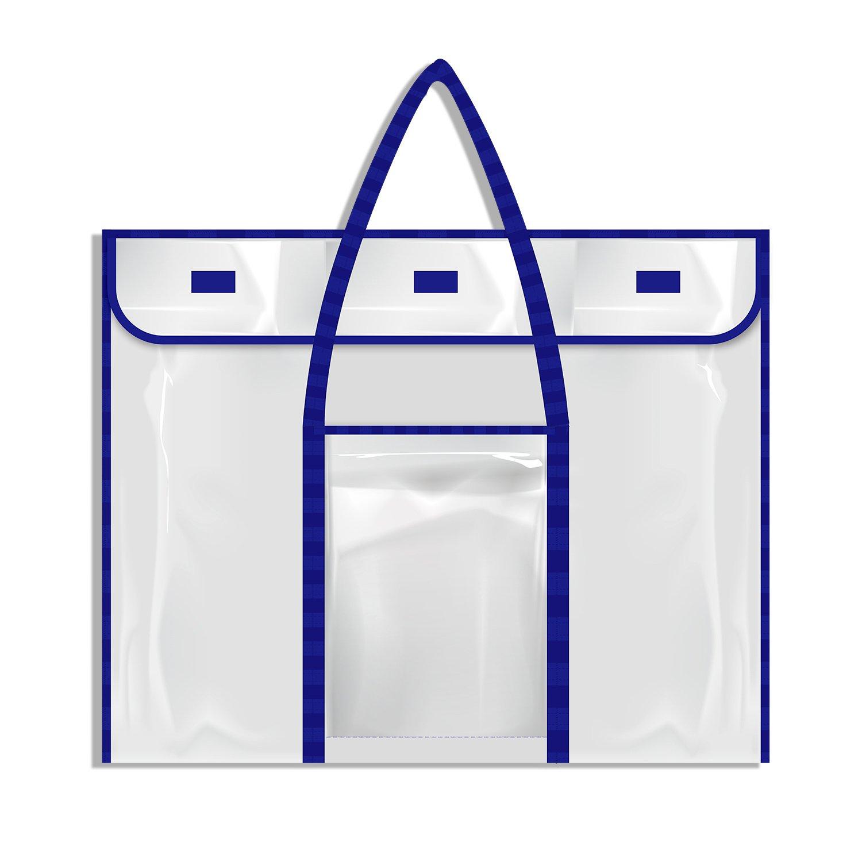 "Bulletin Board Poster Art PVC Storage Pocket Chart with Accessories' Pocket (30"" x 24"") SpriteGru"