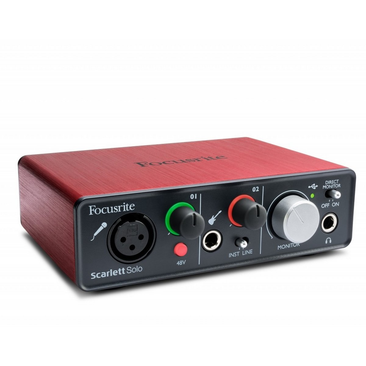 Focusrite Scarlett Solo | 2 In 2 Out USB Audio Interface by Focusrite