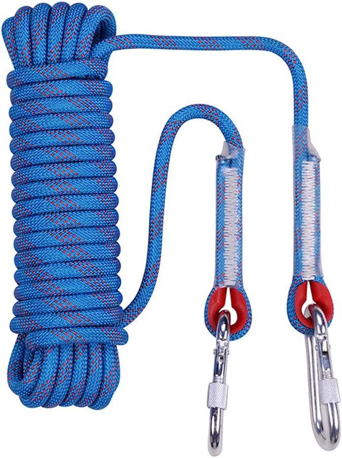 jiinto - Cuerda de Escalada para Exteriores, 20 m, 30 m, 50 m ...