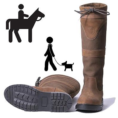dc8d4d7fe7a JHR The Amazon Waterproof Country Dog Walking Boots Wide Calf & Standard  Calf