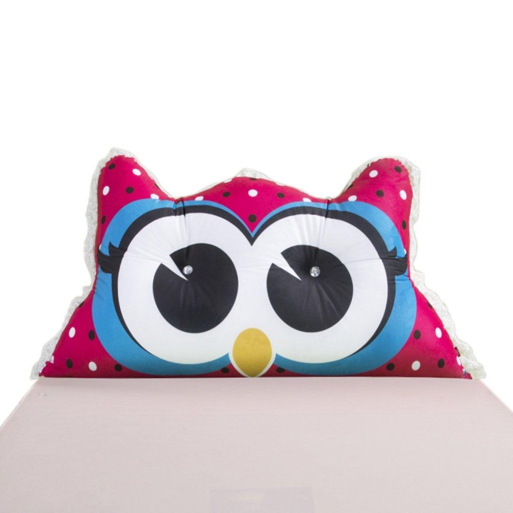 LANNA SHOP- Student Children Bedside Large Cushions Big Back Pillow Cushions Double Triangular Cushions Soft Bag Pillow(15065cm)