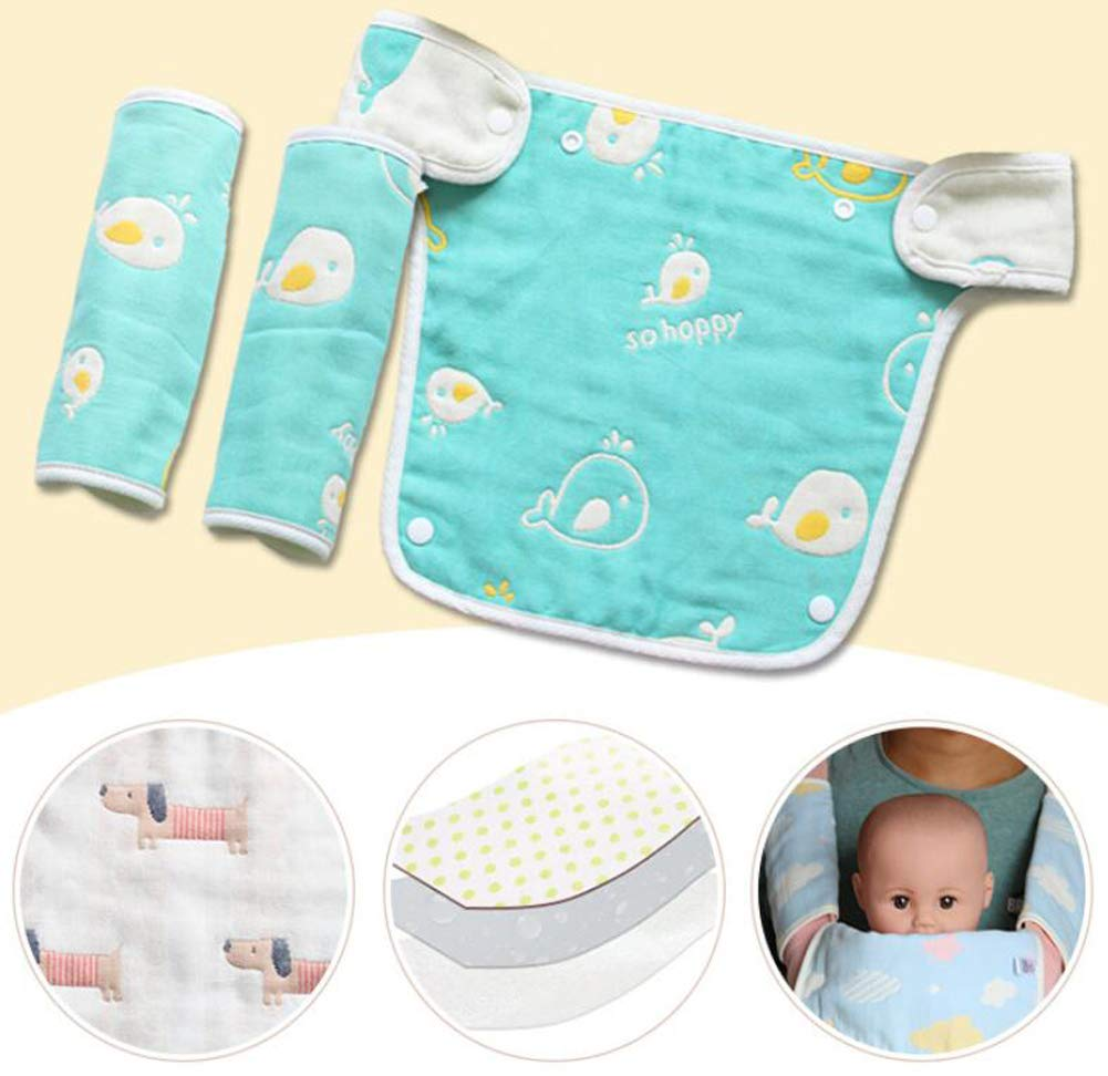 Colorful Star Baby Carrier Reversible Teething Drool Pads Fits Ergobaby Four Position 360 3-Piece Set For Most Baby Carrier