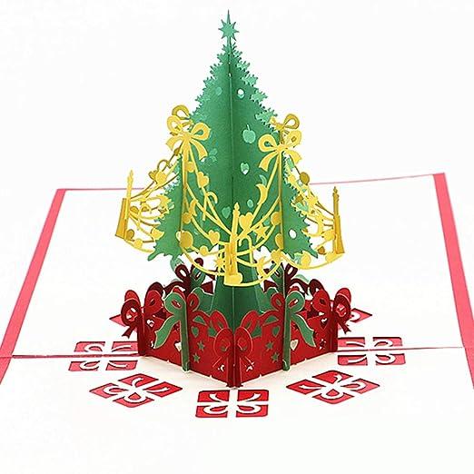 Xdised9xsmao Invitación De árbol De Navidad Saludo Tarjeta