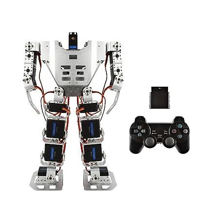 SainSmart 17-DOF Biped Humanoid Kit with SR319 Digital Servos and Controller