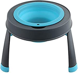 Dexas Popware for Pets Single Elevated Pet Feeder