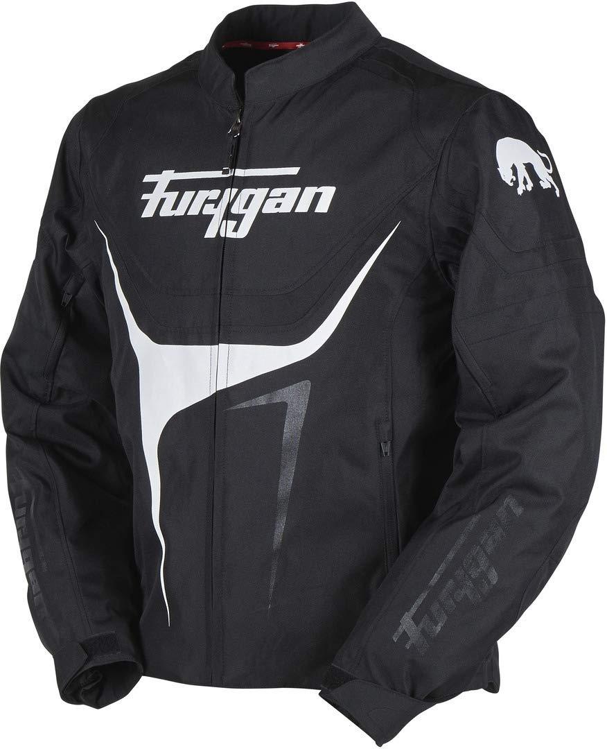 L, Noir Furygan Veste Imperm/éable Moto Oggy Noir Blanc