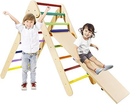 Climbing set of 2 Montessori Gym Climbing gym Montessori Climber Climbing Arch Set Climbing Arch and Ramp Baby Climber Toddler Gym