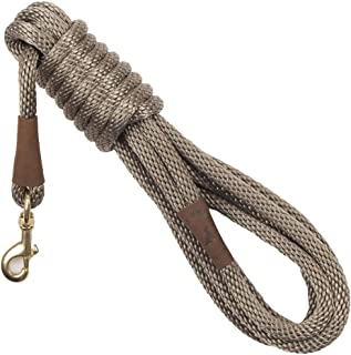 product image for Mendota Pet Long Snap Leash - Dog Training Lead - Made in The USA - Tan, 3/8 in x 15 ft