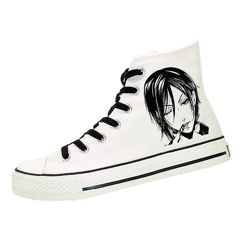 Kostor - Alpargatas de Lona para niño, color Blanco, talla 41: Amazon.es: Zapatos y complementos