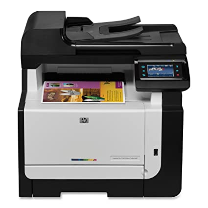 amazon com hp laserjet cm1415fnw electronics rh amazon com