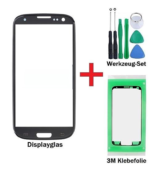 3 opinioni per iTG® PREMIUM Vetro display kit di sostituzione per Samsung Galaxy S3 in Nero-