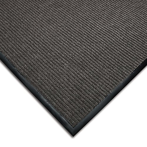- WEARWELL Cavalier Ribbed Carpet Mat - Pre-Cut Size - 3x60' - Gray
