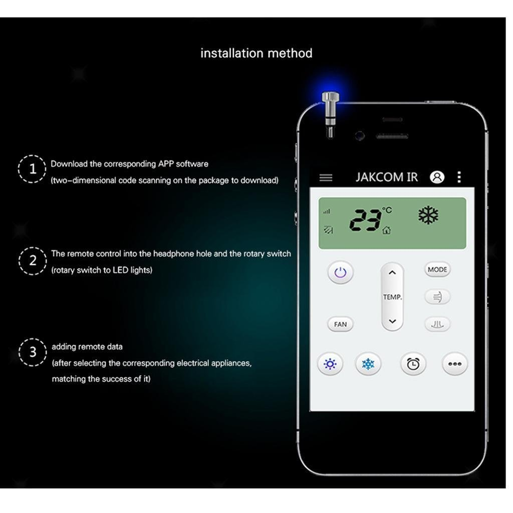 Buy ELECTROPRIME 3 5mm AUX Intelligent Smart Infrared Remote