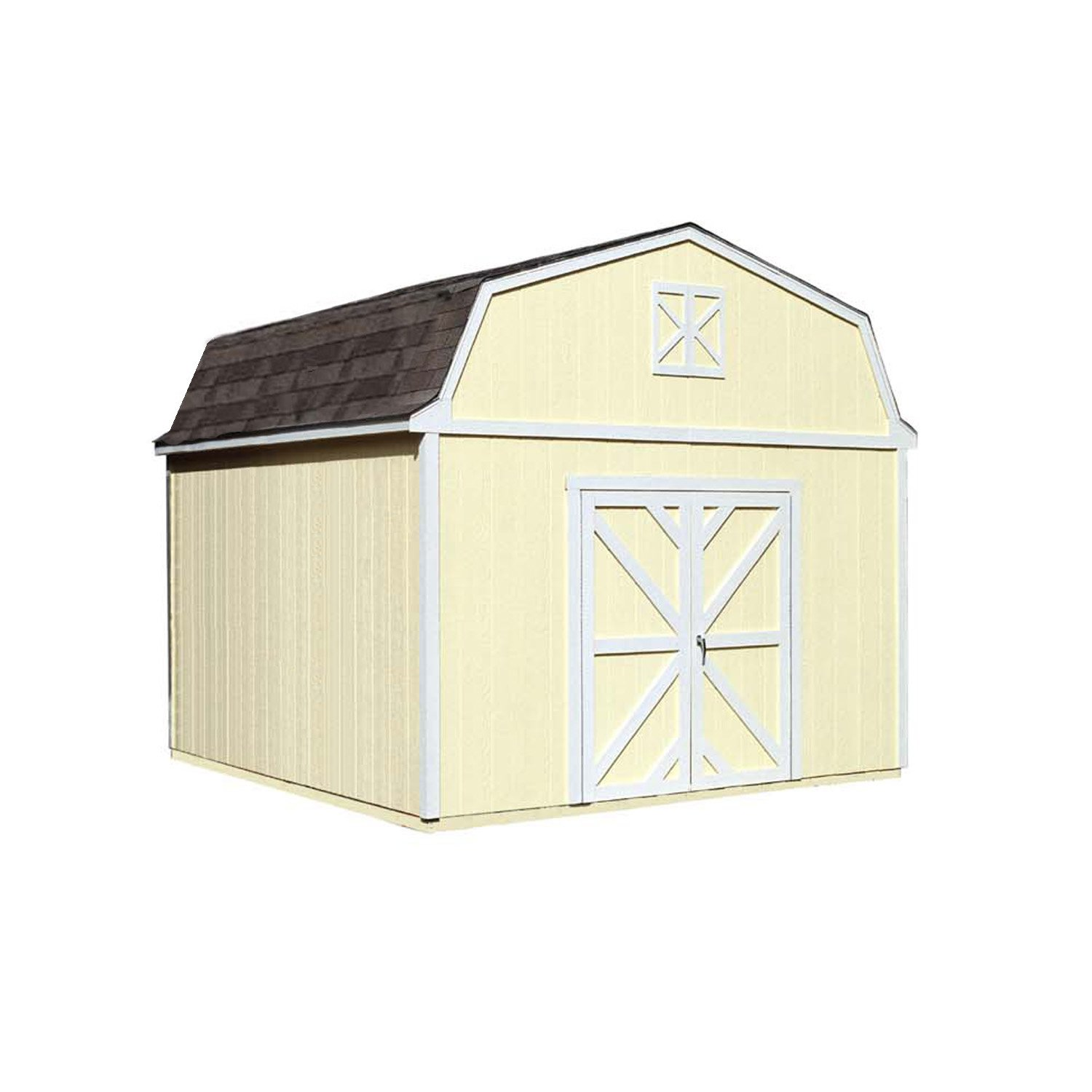 Handy Home Products Sequoia Wooden Storage Shed, 12 by 12-Feet