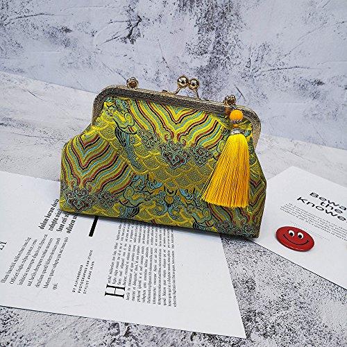 Amarillo bolso La casual Bolso Ocio
