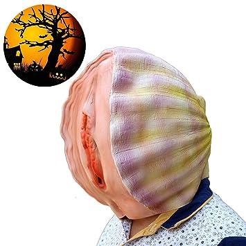 RISILAYS Conchas De Máscara De Látex De Halloween Papel Divertido De La Fiesta De Navidad Jugando