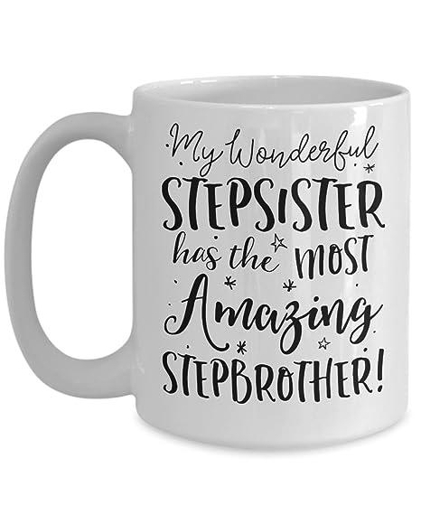 Amazon.com: stepsister – taza Big Little paso hermana ...