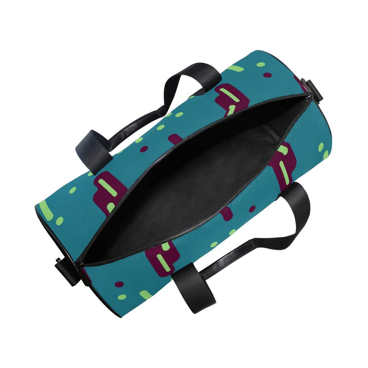 Raindrop Cyan StripWaterproof Non-Slip Wearable Crossbody Bag fitness bag Shoulder Bag