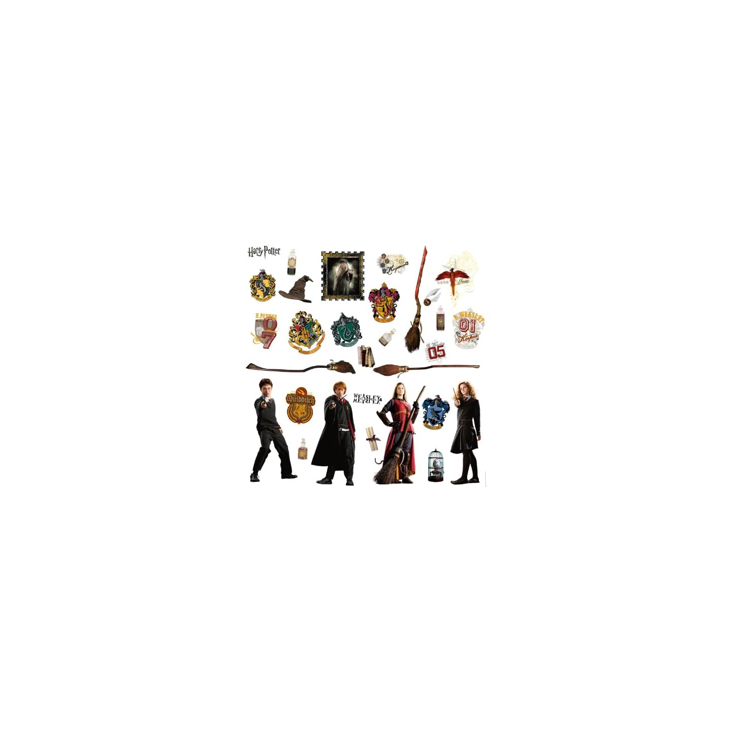 RoomMates Harry Potter Peel and Stick Wall Decals – RMK1547SCS