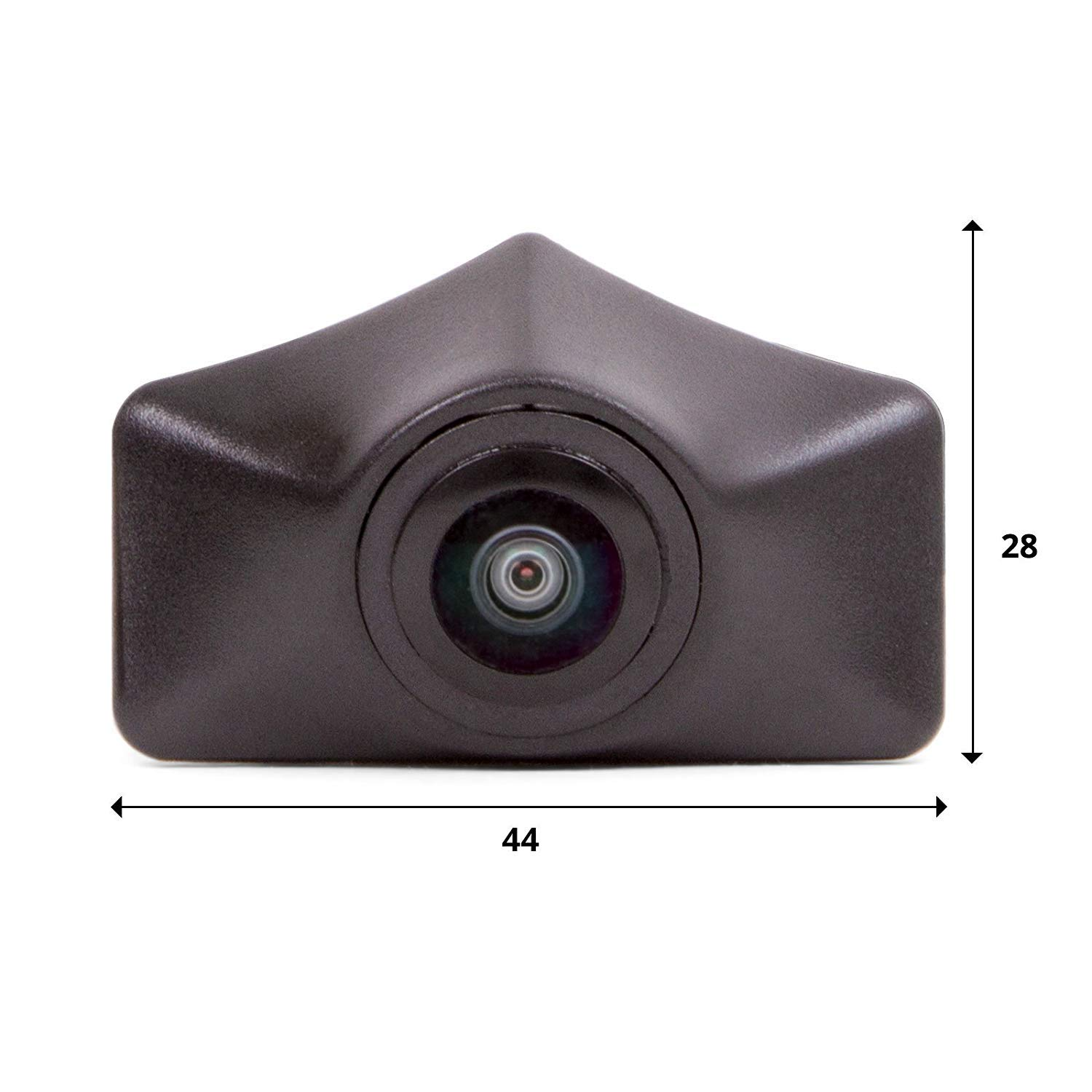Front View Camera Logo Embedded Front Camera Night Vision Parking Waterproof Wide Degree Middle for Audi A6L C7 A7 Q5 Q7 Q3 A4L A4 b8 Front Logo Camera 2012-2013