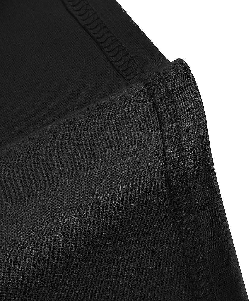 HOMEYEE Damen Vintage /Ärmellos Sch/ö/ßchen Stretch Bodycon Business Kleid B586